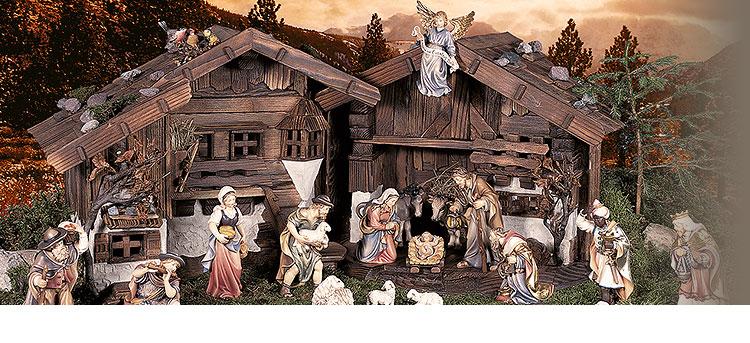 Ben noto Presepe Tirolese, la nuova collezione di statuine Tirolese  WT34
