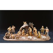 Redemptor crib Nativity and figures