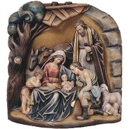 Nativity blocks Wooden nativity