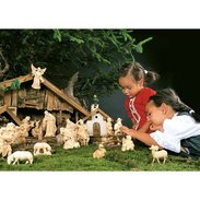 Rives nativity Traditional nativity set