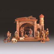 Walter Bacher Nativity  -  Anri