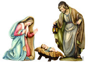 Holy Family  -  Ulrich Bernardi Nativity