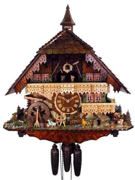 Orologio a cucù K042 Orologi a cucu - presepi - sculture in legno ...