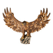 Eagle open wings