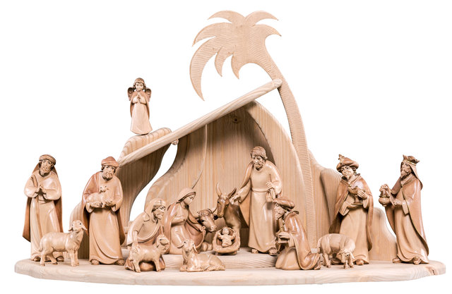 Artis Nativity stained 3 colors