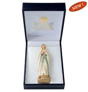 Gift case with Madonna Lourdes  stylized