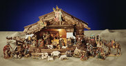 Original Karl Demetz Nativity Set