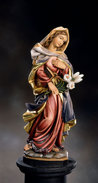 Blessed Virgin with lily