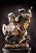 St. George on horse