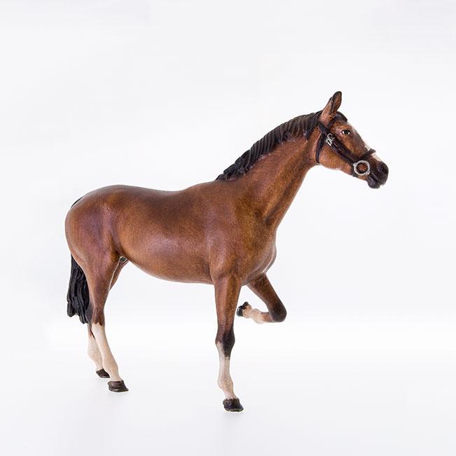 Pferd Beim Beschlagen Holzschnitzereien Und Krippen Aus