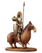 Don Quichote on horse (with pedestal)