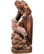 St. Francis with sheep