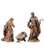 Giner Nativity  -  Lepi Nativity carved in wood