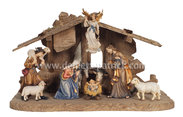 KO Nativity set 10 pcs - stab.Tyrol