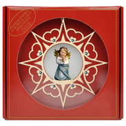 Heart Angel praying  -  Heart Star Crystal + Gift box