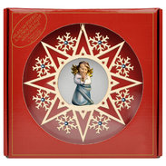 Heart Angel praying  -  Crystal Star Crystal + Gift box