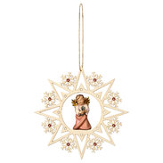 Heart Angel with four clover  -  Crystal Star C.