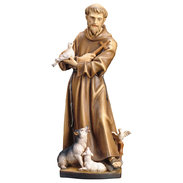 St. Francis from Assisi with animals