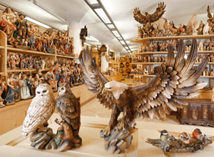 Patrick Demetzs wood art workshops are renowned all over the world because  the wonderful wooden sculptures and statues made by the famous local  sculptors ... d92e1cac3003