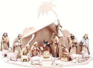 Artis Nativity Wooden figures