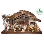 Moderne Weihnachtskrippe.Krippenfiguren Shop Krippen Grödnertal Krippenfiguren Aus Holz