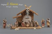 Insam Simon Nativity Original Carved nativity