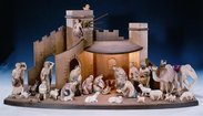 Rowi Nativity Wooden nativity figures