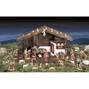 DEUR crib Nativity Val Gardena