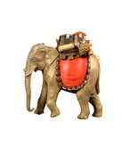 Elephant with baggage
