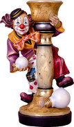 Clown with bow without lamp