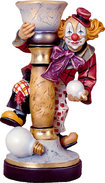 Clown with tie without lamp