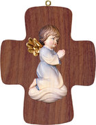 Cross with Pitti  -  angel praying