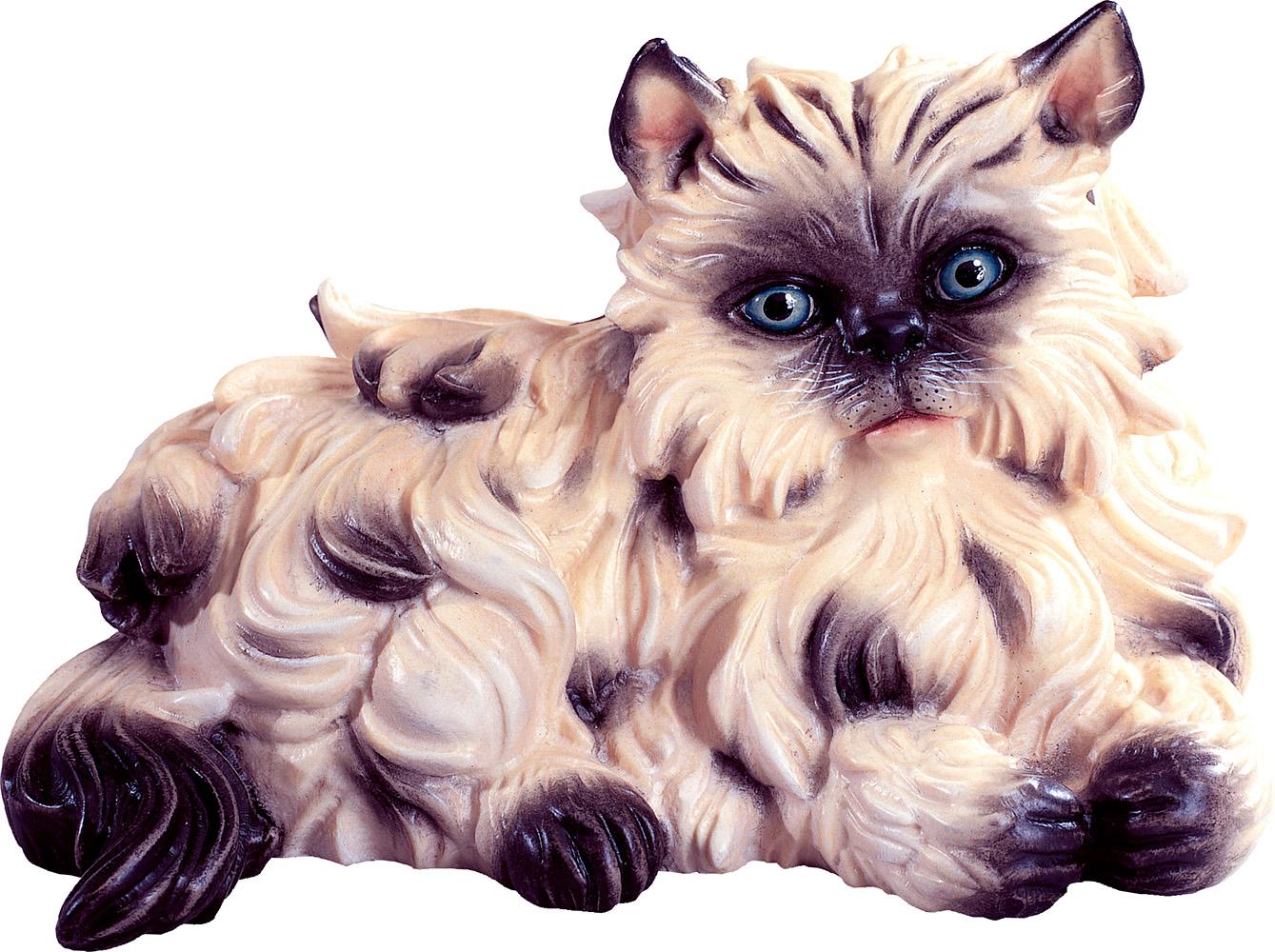 Gatto Gatto In Legno Gatto Persiano Legno Gatto Scolpito