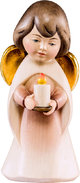 Dream angel with candle