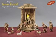 IN Lantern Cometstar+13 Ewald nativity figurines+light and transformer