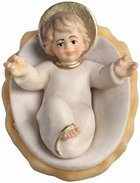LI Jesus child loose with cradle