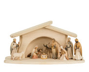 Light Nativity Set 12 pieces