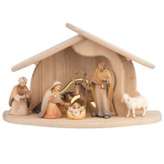 Light Nativity Set 9 pieces