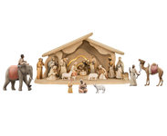 Light Nativity Set 25 pieces
