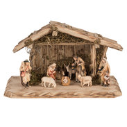 Set Presepe d'Occidente 11 pezzi