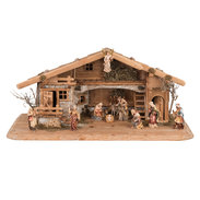 Set Presepe d'Occidente 13 pezzi