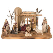 Immanuel Nativity Set 9 pieces