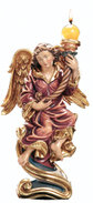 Angel with candlestick r.