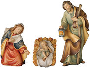 Holy family of the peace nativity set