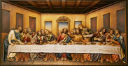 Last supper without frame