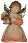 Kneeling angel with lantern
