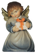 Kneeling angel with gift