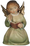Kneeling angel with book