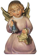 Kneeling angel with bell