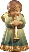 Angel with ornaments  -  trumpet